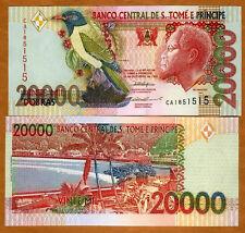 St Thomas & Prince, 20,000 (20000) Dobras, 1996 P-67 (67a), UNC > Colorful