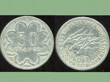 50 FRANCS 1978  D (banque des etats d'afrique centrale )   ANM