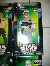 "Star Wars Firing Rebel Blaster Luke Skywalker 12"" Figure"
