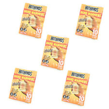 Hot Hands - Hand Warmers - 5 x 2 Packs (10 Sachets Value Pack)