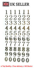 Peel Off Stickers Celtic Gold Alphabet numbers Birthday book project