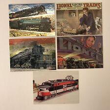 GREATEST 1998 Complete OMNICHROME Card Set w/ 3 BONUS PROMOS Kolekcje Karty na wymianę LIONEL TRAINS 2