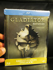 Gladiator Blu-Ray Steelbook Region Free Sealed Embossed Russell Crowe Roman