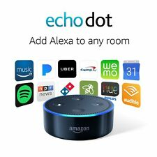 Amazon Echo Dot 2nd Generation with Alexa Black NEW, CHEAP!!!  NO TAX