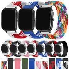 Nylon Watch Strap Wrist Band Bracelet For Huami AmazfitGTS2e/2 Mini BipYouth