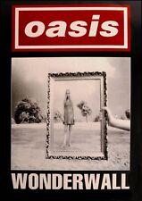"Reproduction ""Oasis - Wonderwall"" Poster, Indie, Home Wall Art"