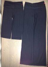 Lululemon 4 Womens XS Astro Pants Wunder Under Crop Yoga Workout Legging Blk-2PC