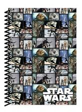 STAR WARS BLOCKS SOFTCOVER A5 NOTEBOOK LINED OFFICIAL JABBA THE HUT