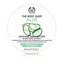 Body Shop ◈ ◈ Aloe Corporal Nutritivo suave mantequilla Crema Hidratante Crema ◈ 200ml