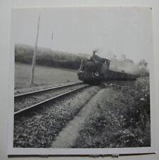ESP710 - 1950s CANTABRICO RAILWAY - STEAM LOCOMOTIVE PHOTO Spain