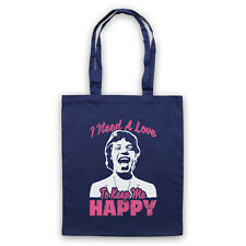 HAPPY MICK UNOFFICIAL THE STONES I NEED A LOVE ROCK TOTE BAG LIFE SHOPPER