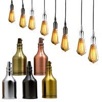 Vintage E27 Lampshade Light Bulb Holder Antique Retro Style Edison Fitting  UK