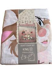 Disney Primark New KING SIZE DUVET COVER SET 🐰Thumper  Miss Bunny 🐰2021