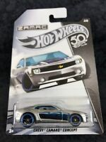 Hot Wheels 2018 50th Anniversary HW ZAMAC Chevy Camaro Concept