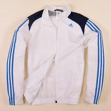 Adidas Herren Jacke Jacket Gr.3 (S) Climalite Trainingsjacke Weiß, 72079