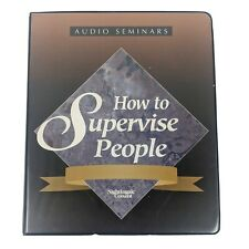 How To Supervise People Fred Pryor Audio Book Cassette Tape Nightingale Conant
