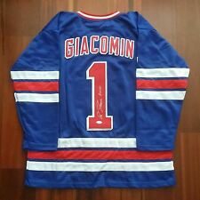 Eddie Giacomin Autographed Signed Jersey New York Rangers JSA ccdf623f0