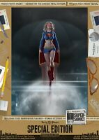 Supergirl SUPERSONIC Sexy Signed Special Edition A3 Comic Art Print Superman DC