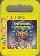 Digimon The Movie UK R2 DVD