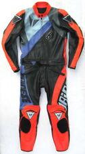 Gut erhaltene DAINESE Evolution Gr. 52 Zweiteiler Lederkombi schwarz orange blau