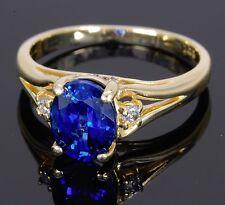 Sapphire Yellow Gold Fine Jewellery