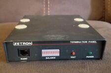 Zetron Model 901 9437 Termination Panel Auto Patch Pn 901 9437