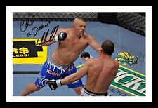 CHUCK LIDDELL AUTOGRAPHED SIGNED & FRAMED PP POSTER PHOTO