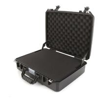Waterproof Hard Plastic Case with Foam - Suitable for Cameras & Accessories