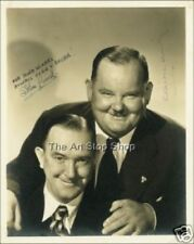 Laurel and Hardy signed photo print