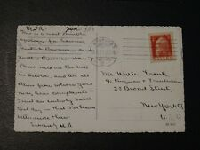 Bavaria Stamp SG 140d Type II date issued 1911-13 on postcard to U.S.A 23.6.1913