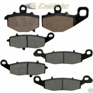 New Caltric Front and Rear Brake Pads for Kawasaki EX650 Ninja 650R 2006-2011