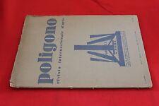 rivista - POLIGONO - Anno 1930 Numero 8 RIVISTA D'ARTE