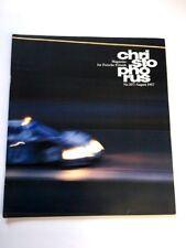 1987 Porsche Christophorus Magazine #207 - 911 Club Sport Slantnose 962C Race