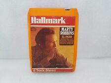 MARTY ROBBINS--EL PASO--8 TRACK STEREO CARTRIDGE-HALLMARK VINTAGE RARE 1971