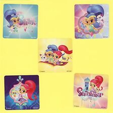 15 Shimmer and Shine Large Stickers - Party Favors - Nahal, Tala