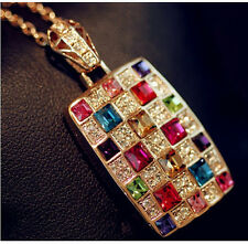 Valentine gifts cubic zirconia Diamond women girls Pendant chain Necklace gifts