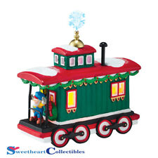 Dept 56 North Pole Village Northern Lights Caboose 4050968
