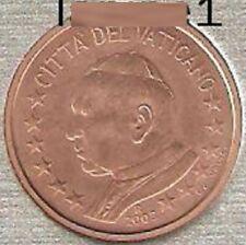 ►RARE ! PIECE 2 CENT BU VATICAN 2003 EURO PAPE JEAN PAUL II FDC UNC 100% NEUVE ◄