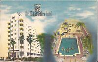 Miami Beach, FLORIDA - Marseilles Hotel - ARCHITECTURE - 1951 - Art Deco
