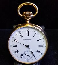 Patek Philippe Pocket Watch Rare Vintage 18 Karat Gold  58mm 1920-1925 Jewelry