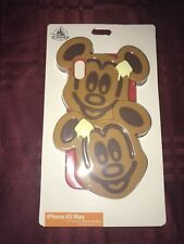 Disney Parks D-Tech Mickey Waffles iPhone Xs Max Case Waffle Phone Case New