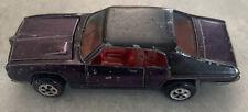 Original 1969 Topper Johnny lightning Custom GTO purple red interior. black top