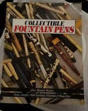 Collectible Fountain Pens by Glen Benton Bowen Softcover isbn 0-910173-00-1 12th