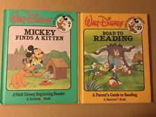 Walt Disney: Mickey Finds a Kitten Vol. 7 & Road To Reading, Volume 19 Hardcover