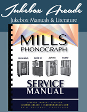 NEW! Mills Models Swing King, Do Re Mi, Zephyr and Studio Service Manual