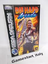 DIE HARD ARCADE (SEGA SATURN) PAL VERSION USED BOXED