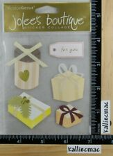 Jolee's GIFT BOXES Boutique Stickers WEDDING BIRTHDAY GIFTS