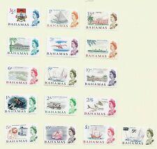 Bahamas, 1965 QEII  pictorials complete set LMM (B029)