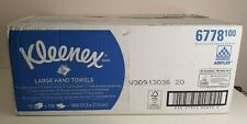 Kleenex Large Interfold Hand Towels 6778 - 2 Ply Paper Towels - 15 Packs Airflex