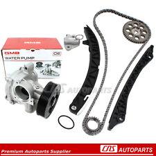 Timing Chain Kit GMB Water Pump Fits 09-13 Suzuki Vitara Kizash 2.4L DOHC J24B